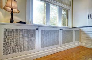Экран для радиатора отопления своими руками. Варианты и идеи по конструированию экрана для радиатора