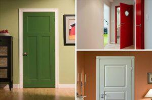 Покраска межкомнатных дверей своими руками
