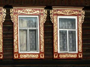Наличники на окна своими руками