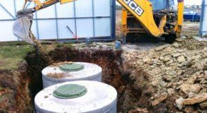 Бетонная выгребная яма: инструкция по монтажу
