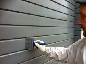 Покраска деревянных стен: пошаговая инструкция