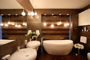 Каким должно быть освещение в ванной комнате?