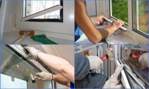 Как демонтировать пластиковое окно