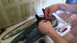 Ремонт электропилы своими руками