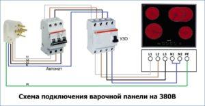 Какой выбрать автоматический выключатель при подключении варочной панели 7 кВт?