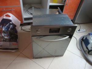Подключение духового шкафа и стиральной машины