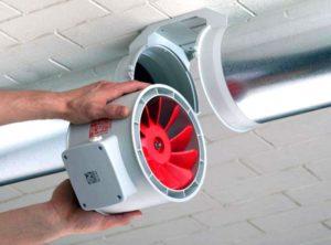 Устанавливаем вентилятор для кухни своими руками