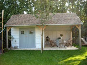 Как правильно подключить хозпостройки во дворе частного дома?
