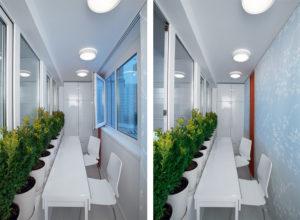 Каким должно быть освещение на балконе?