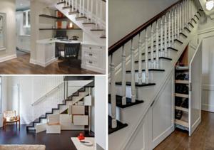 Пространство под лестницей: особенности использования подлестничного места