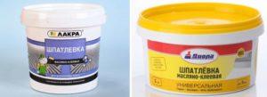 Масляная шпаклевка: особенности материала и технология использования