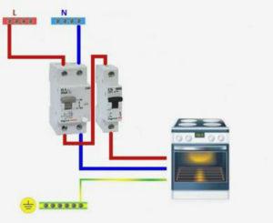 Какой кабель нужен для подключения плиты к счетчику?