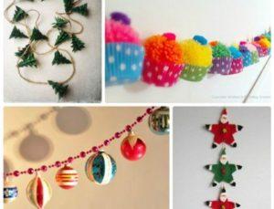 5 идей сборки новогодней гирлянды
