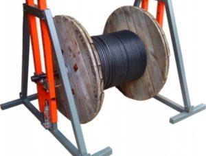 Как размотать кабель с барабана?