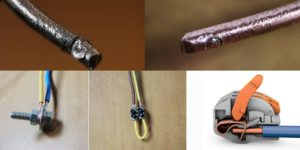 Как соединить алюминиевый провод с медным — обзор способов