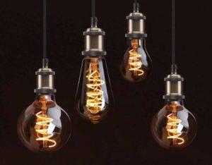 Характеристики винтажных ламп Эдисона и примеры их использования