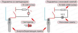 Почему светодиодная лампа трещит при включении и отключении?