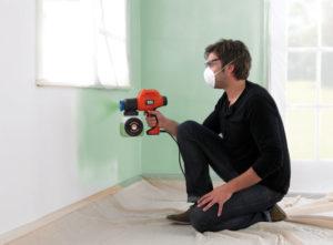 Пульверизатор для покраски стен: технология применения