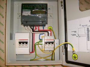 Как установить счетчик электроэнергии своими руками