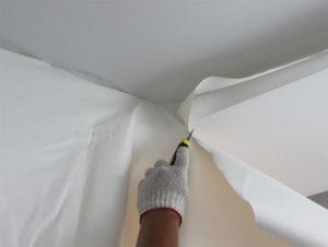 Тканевые декоративные потолки своими руками. Инструкция по монтажу тканевого потолка