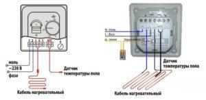 Как установить терморегулятор для теплого пола