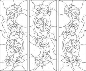 Рисунки для витража: техника и способы переноса