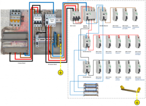 Правильная ли схема сборки электрического щита на 24 модуля?