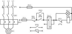 Как добавить электроблокировку и дистанционное управление в реверсивную схему управления электродвигателем?