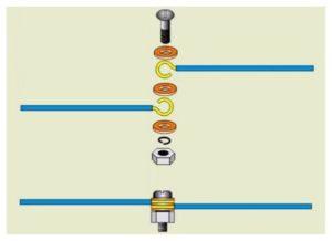 Как соединить провода болтом — пошаговая инструкция