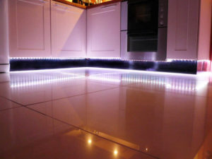Светодиодная подсветка кухни своими руками