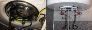Почему электрокотел бьет током через струю горячей воды?