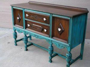 Реставрация деревянной мебели своими руками