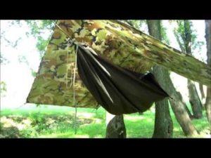 Переделать брезент от старой палатки в гамак своими руками