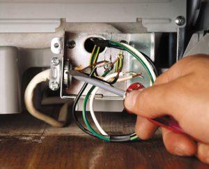 Подсоединить кнопку включения посудомоечной машины