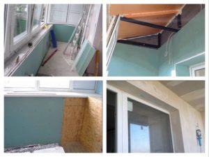 Внутренняя отделка балкона гипсокартоном. Инструкция по монтажу гипсокартона на балконе своими руками