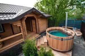 Гостевой дом с баней своими руками