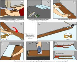 Укладываем ламинат своими руками правильно. Советы от опытных строителей по монтажу ламината