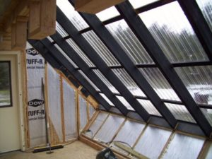 Крыша из поликарбоната своими руками