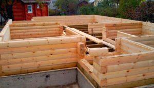Как построить дом из бруса. Утепление дома из бруса. Фундамент для дома из бруса