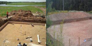 Как вырыть котлован под монолитный фундамент на участке