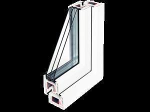 Немецкие пластиковые окна: серия окон стандарт от фирмы REHAU