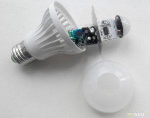 Как выбрать датчик движения для светодиодных ламп?