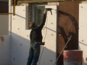 Утепление фасада пенопластом своими руками
