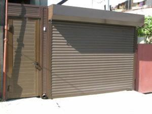Рольставни для гаражных ворот