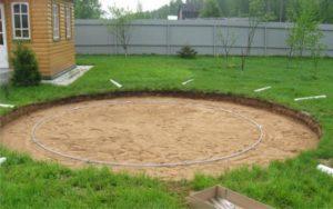 Площадка под бассейн: как подготовить