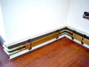 Плинтусное отопление: инструкция по монтажу