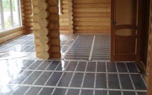 Электрический теплый пол для деревянного дома