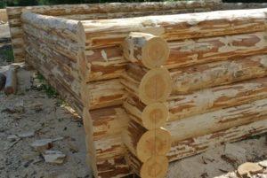 Бани из рубленного бревна: пошаговая инструкция