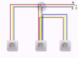 Можно ли прокладывать кабель шлейфом от розетки к розетке?
