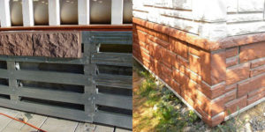 Облицовка цоколя дома: пошаговая инструкция
